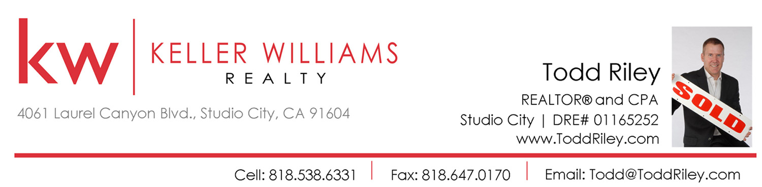 Todd Riley 91607  Real Estate Agent